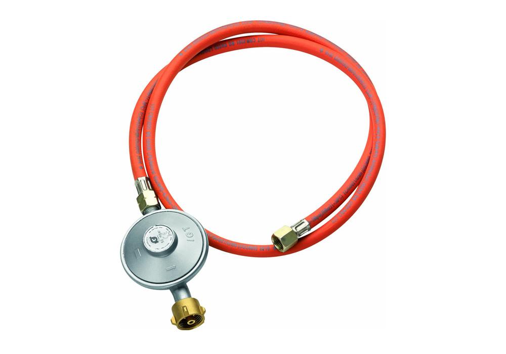 Gasdruckminderer und Gasschlauch