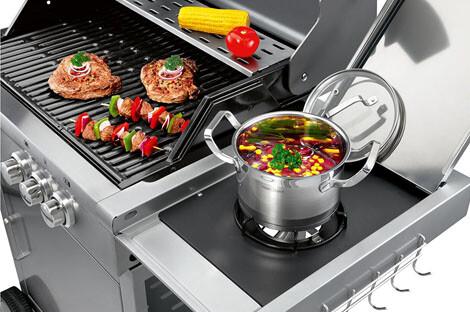 Rösle Gasgrill Indirektes Grillen : Top gasgrills mit seitenbrenner u was zubereiten u vorteile