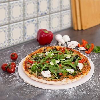 Materialien Pizzastein
