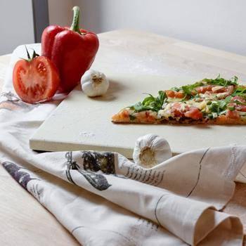 Wie funktioniert ein Pizzastein